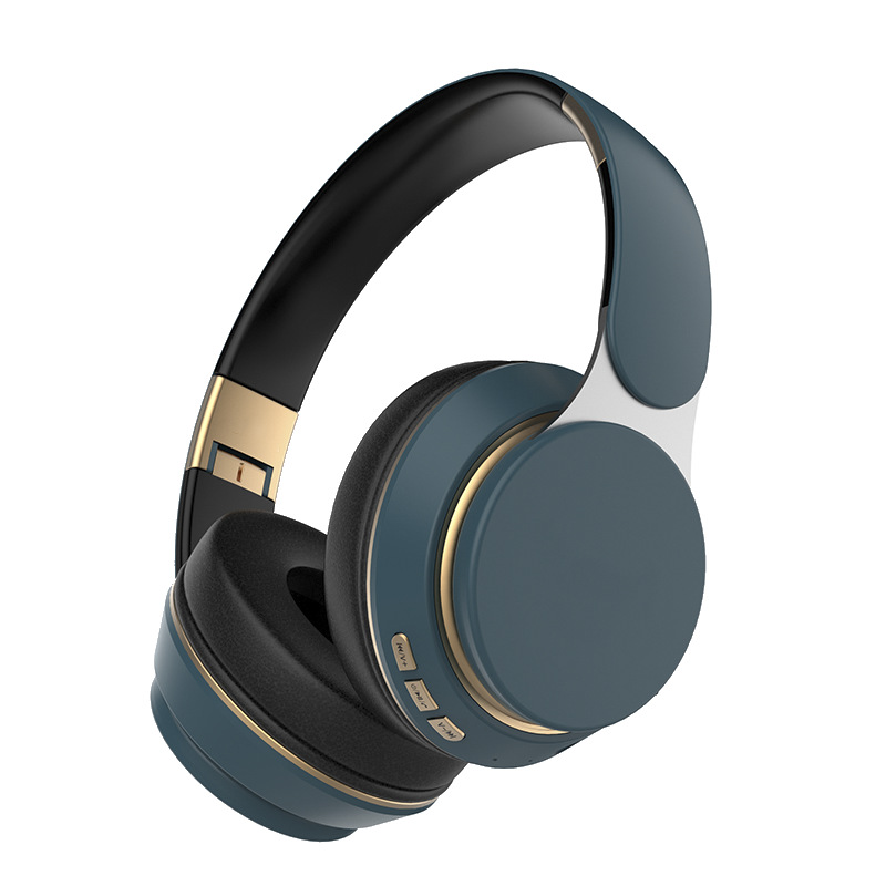Tai nghe Bluetooth không dây loa siêu trầm thẻ âm thanh nổi