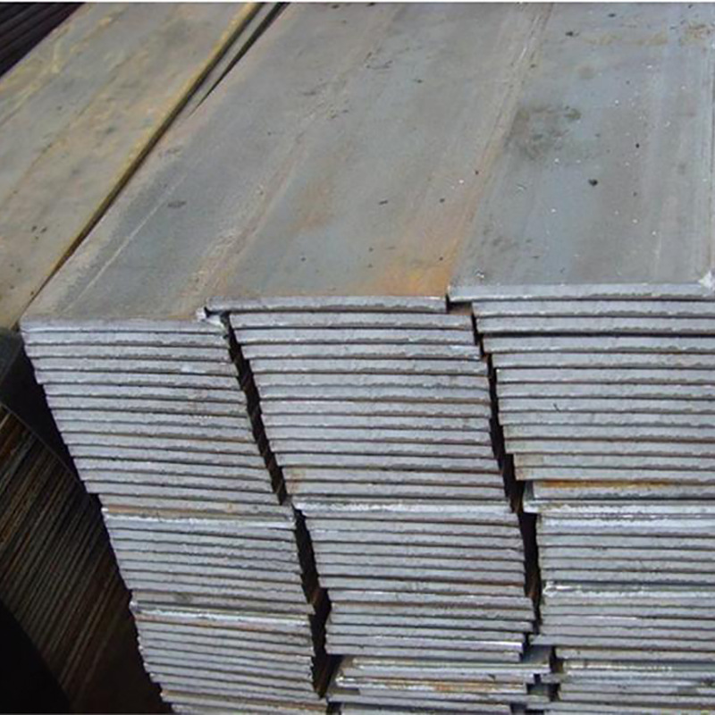 Galvanized flat iron Q235 hot rolled flat steel 40 * 4 cold drawn flat steel for construction site
