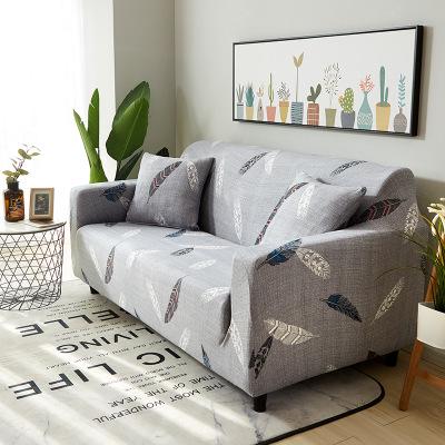NITELUOSI Vỏ bọc Sofa Bao trọn gói Sofa phổ thông đa năng Bọc sofa vải bốn mùa Đệm sofa nỉ mùa hè bọ
