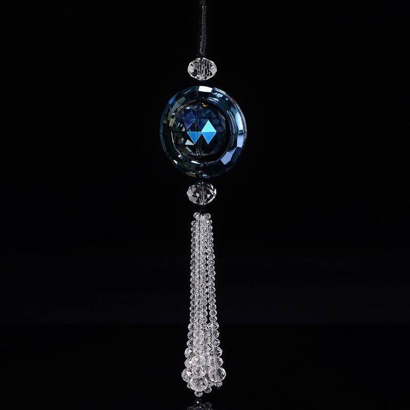 LIDE Crystal car pendant car interior accessories car pendant safety Charm Pendant predestined cryst