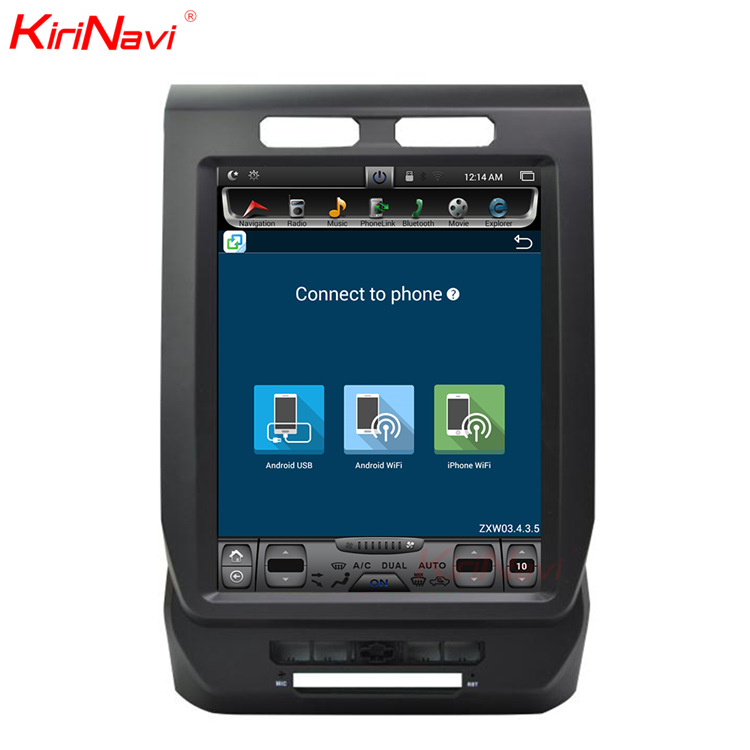 KANAWEI It is suitable for Ford Raptor F150 Android intelligent voice Internet connected vehicle lar