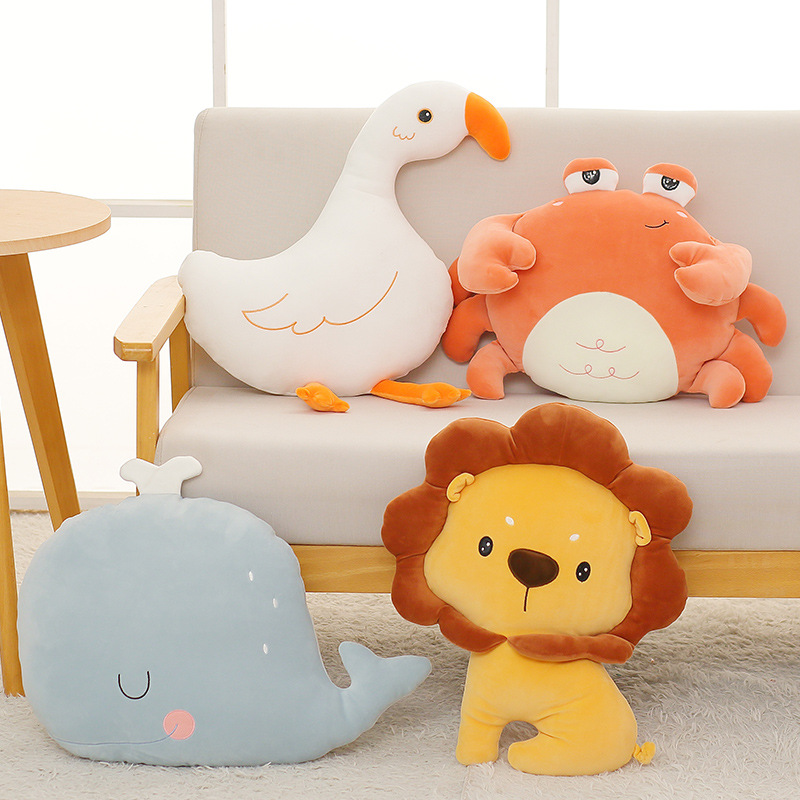 TAOXIMAO Plush toys customized Wang Yuan's same lion doll cloud pillow doll gift
