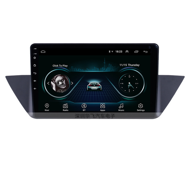 HUAFEI The 10.1-inch Android car navigation Bluetooth GPS Car Navigator is suitable for the 09-15 BM