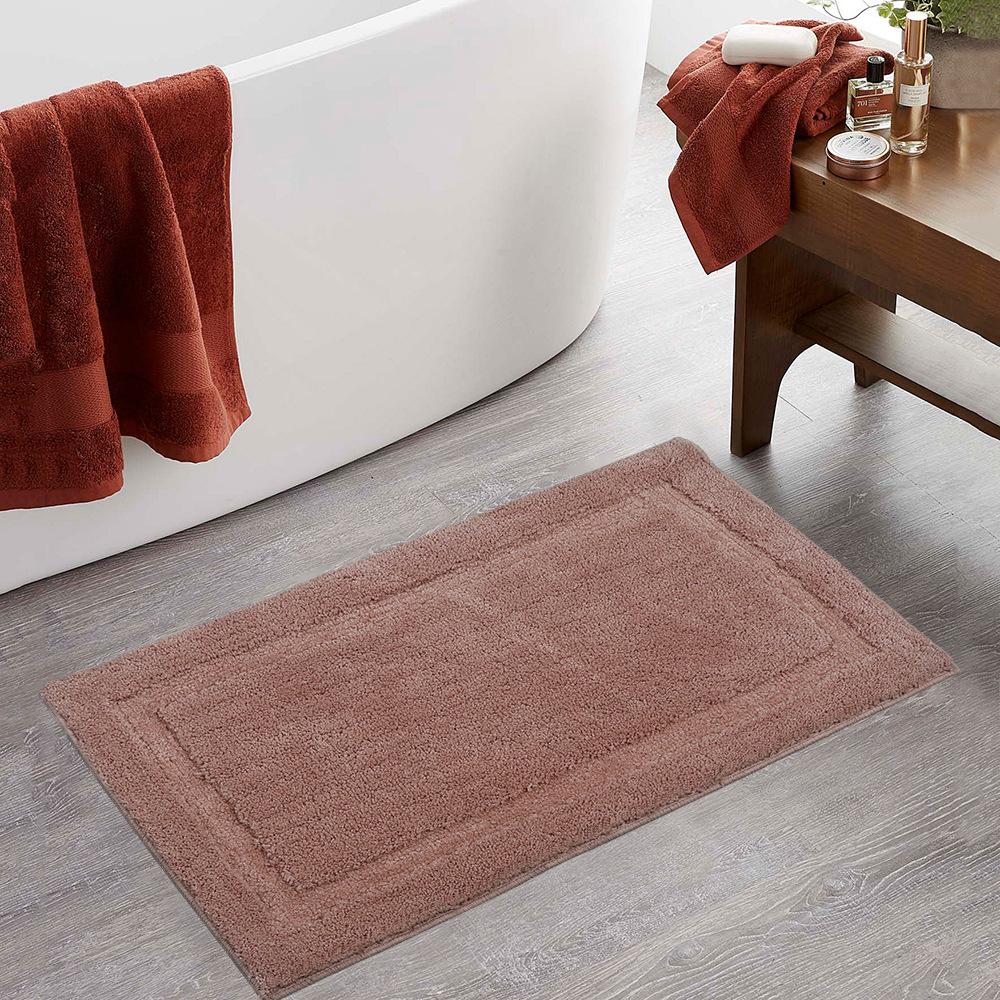 Solid color floor mat bathroom water absorption anti slip mat super fiber tea table kitchen bedroom