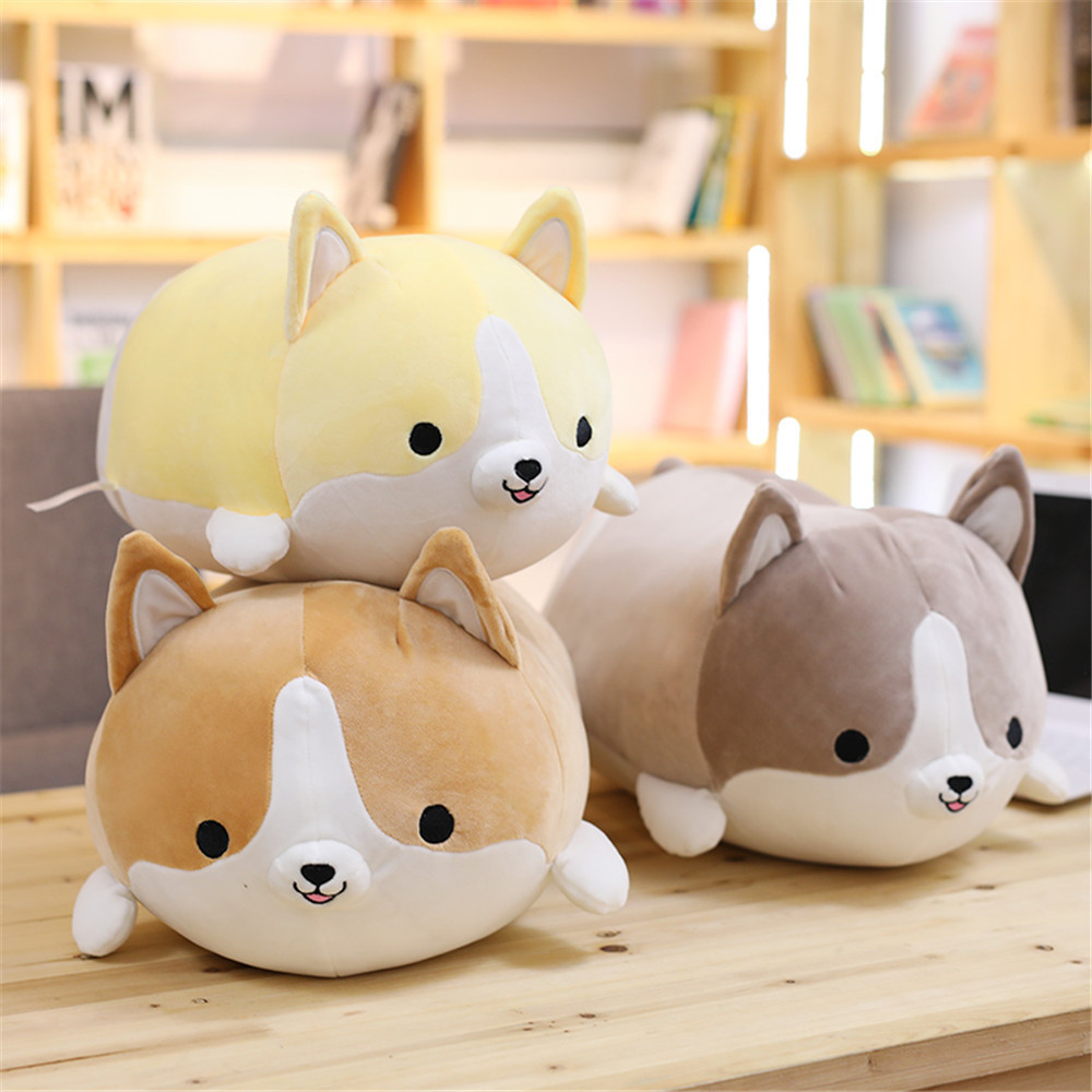 CATS LOVE Creative cute cocky dog doll lying Chai dog sleeping pillow soft down cotton plush toys