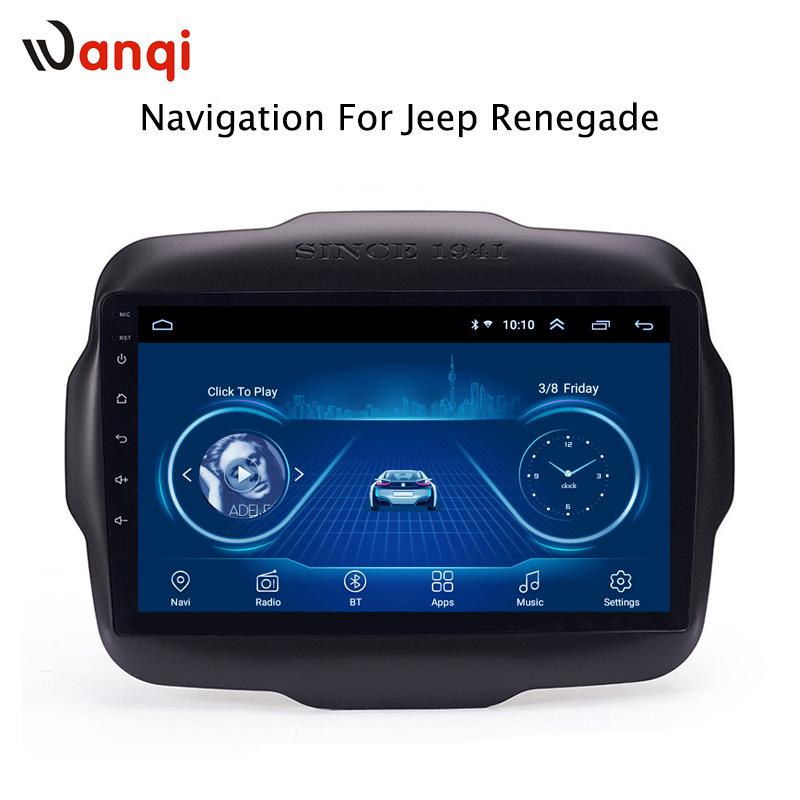 WANQI Suitable for jeep 2011-2013 Freeman vehicle GPS navigation