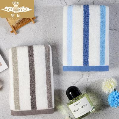 HUANGHOU khăn lau tay Khăn bông nữ hoàng, khăn mặt cotton, khăn mặt mềm thấm nước, khăn gia dụng ngư