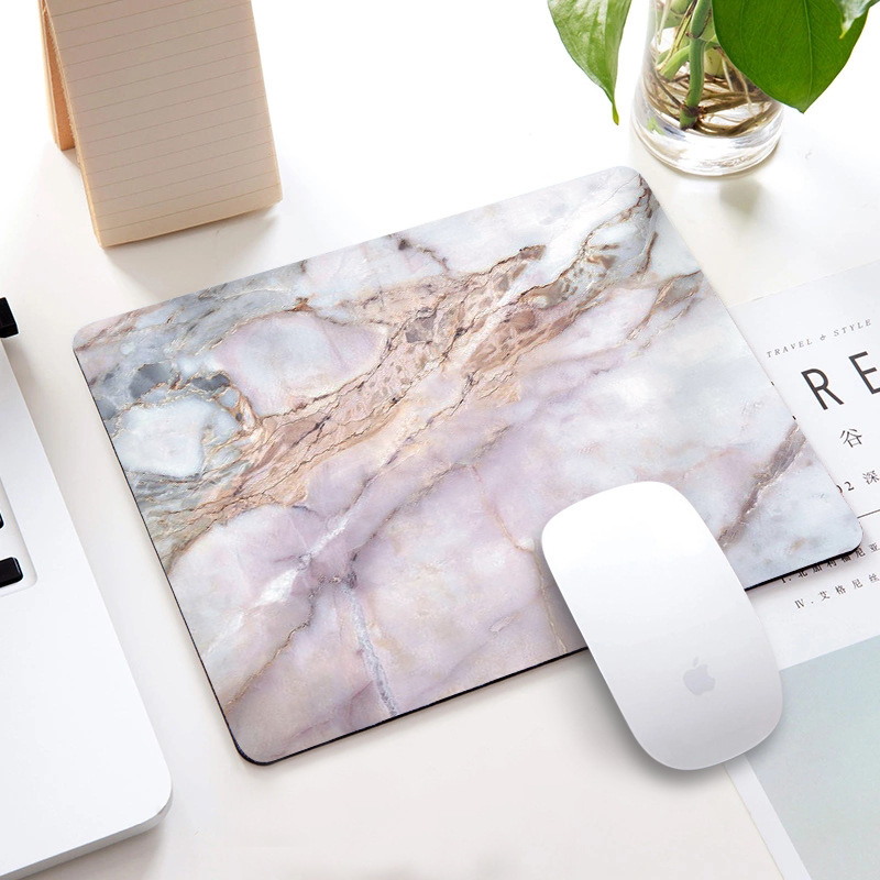 Marble Mouse Pad advertisement mouse pad Internet cafe order make game rubber
