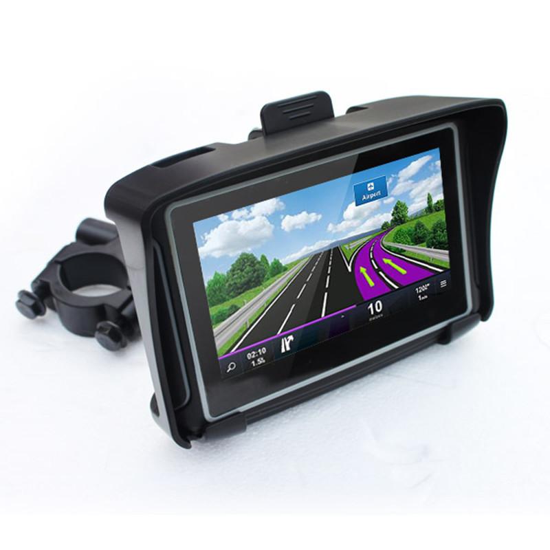 GPS navigation 4.3-inch waterproof motorcycle positioning navigator