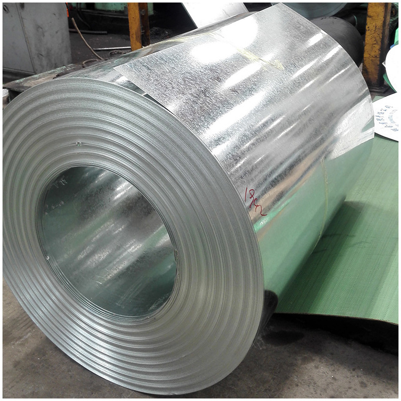 Flowered galvanized sheet 0.17 ~ 4.0 mm galvanized coil white iron sheet 275g high zinc galvanized s