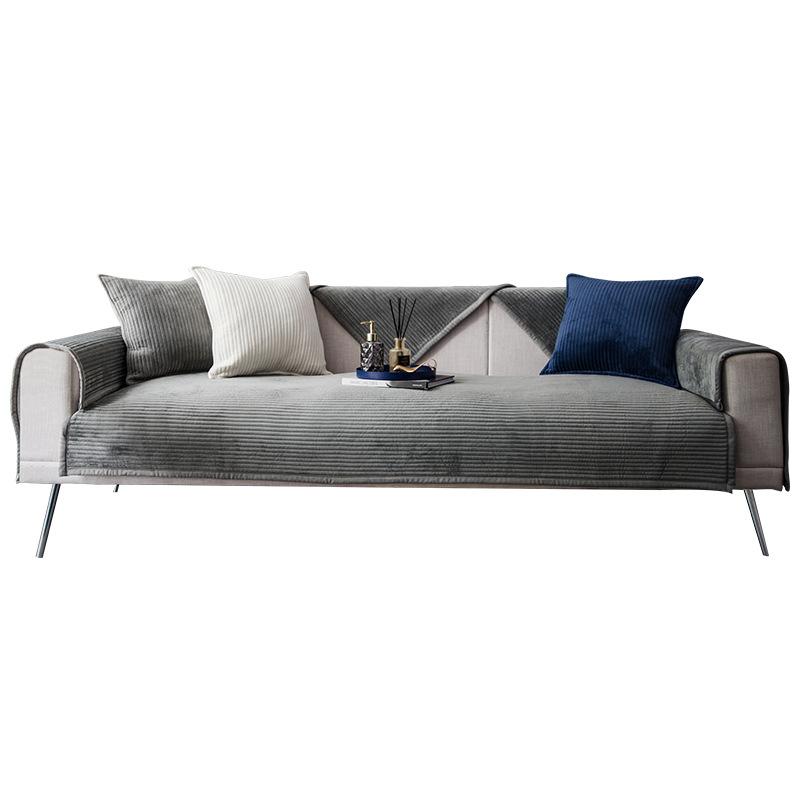 LUQING Light luxury beioupi sofa cushion cover, four seasons general, simple, modern, non slip, livi