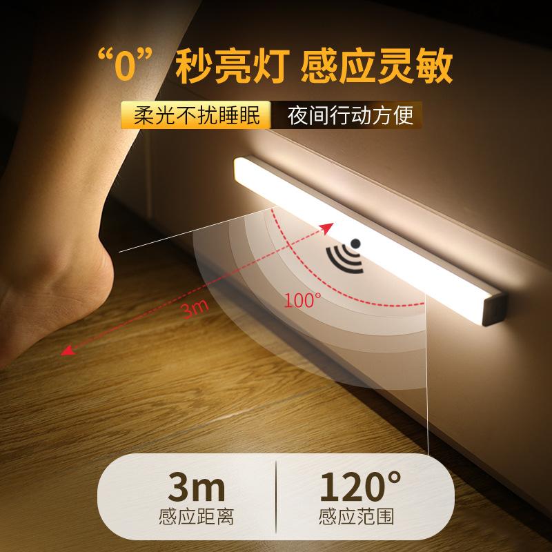 KAIXINGUO Intelligent human body induction night light led aisle emergency light rechargeable light