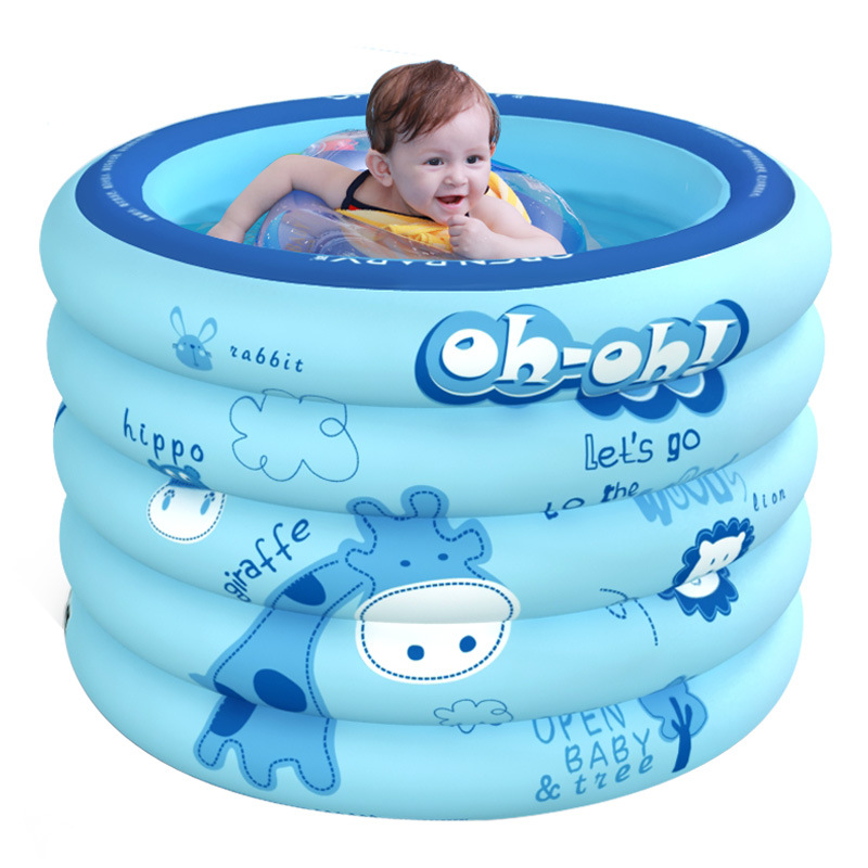 Baby swimming pool household indoor inflatable bathing pool newborn baby BB baby swimming bucket chi