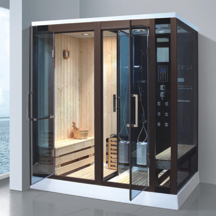 AOWO Steam shower room sweat shower integrated room multi person sweat room light wave sweat room ho