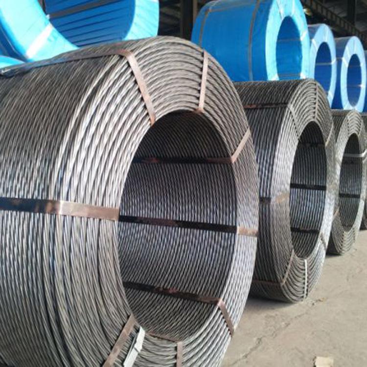Prestressed steel strand 15.2 steel strand 1 * 7 steel strand Yunnan Kunming
