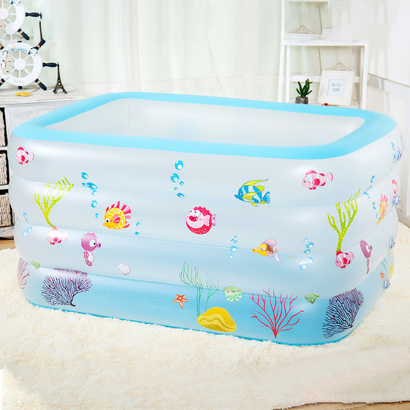 XIALE Baby inflatable swimming pool household thickened adult super large children's play pool baby