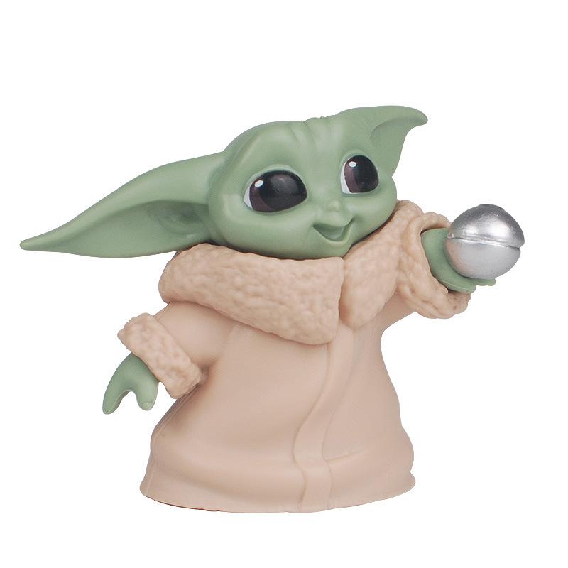 Star Wars Yoda baby 5 hand made toys for baby Yoda