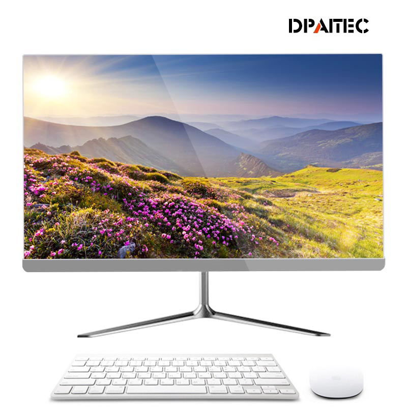 DPAITEC New narrow frame desktop computer all in one set for office and home use
