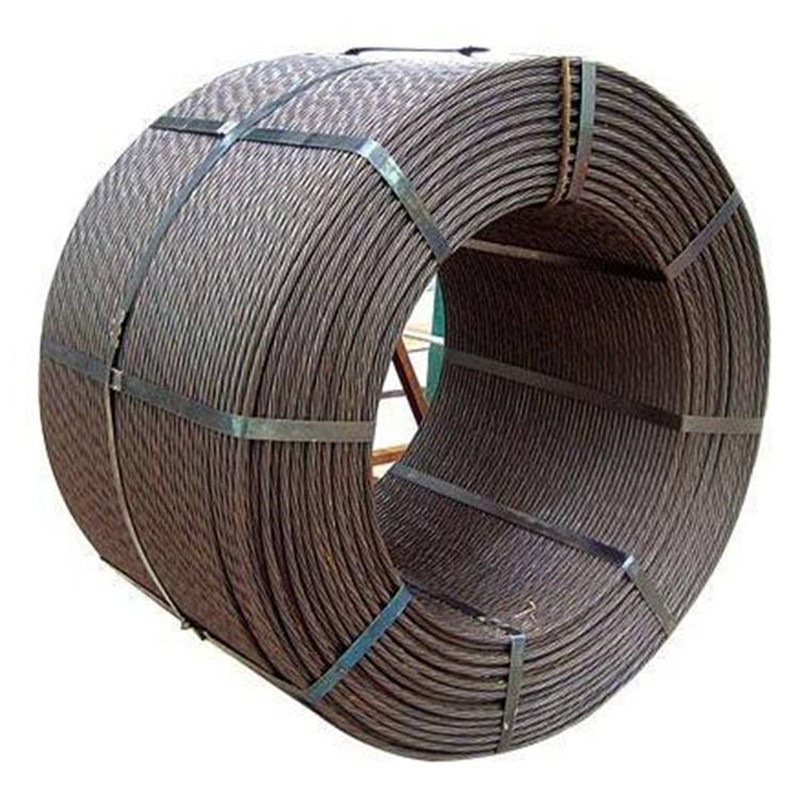 High tensile strength galvanized steel strand
