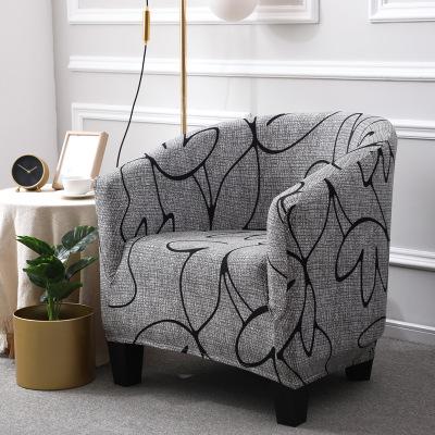 AOYOU Vỏ bọc Sofa Xuyên biên giới Châu Âu trải dài bao gồm tất cả bao gồm ghế sofa đơn quán cà phê I