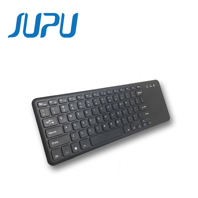 New general wireless 2.4G keyboard with touchpad dual system general wireless keyboard with touchpad