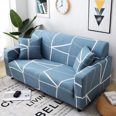 Vỏ bọc Sofa Nệm bọc sofa trọn gói 卍 Nệm bọc vải nỉ bốn mùa đàn hồi đệm sofa da khăn sofa đơn trọn bộ