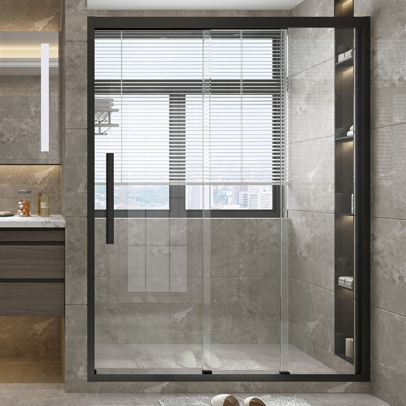 DUOSHA Tosa 304 stainless steel I-shape integral shower room simple toilet screen partition triple d