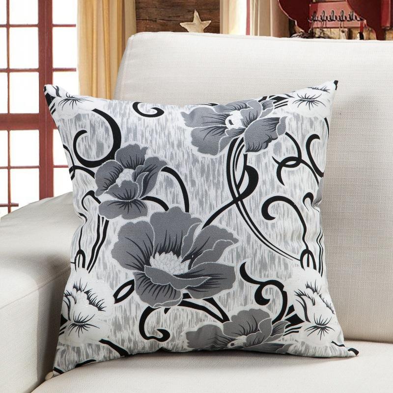 QIANFANNA Sofa pillow big cushion living room pillow cover newspaper pillow square office pillow