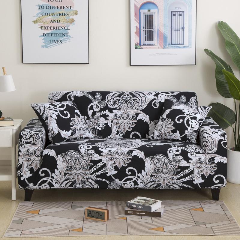 TEBO 2019 new sofa cover, elastic sofa cover, single, double, Princess combination, sofa towel, sofa