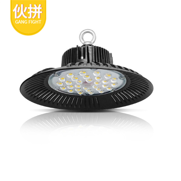GUANGYA LED high bay light 50W100W150W200W fin workshop workshop warehouse industrial lighting UFO U
