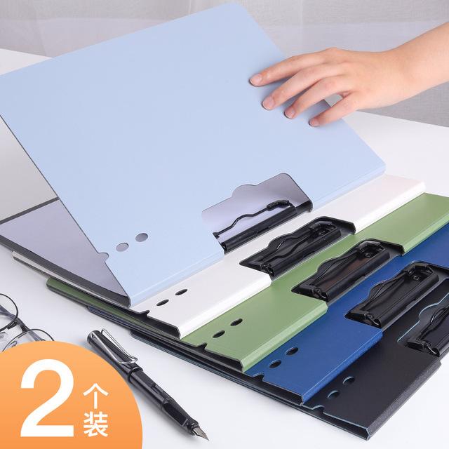 KABAXIONG office supplies vertical horizontal Secretary folder A4 data book test paper storage folde