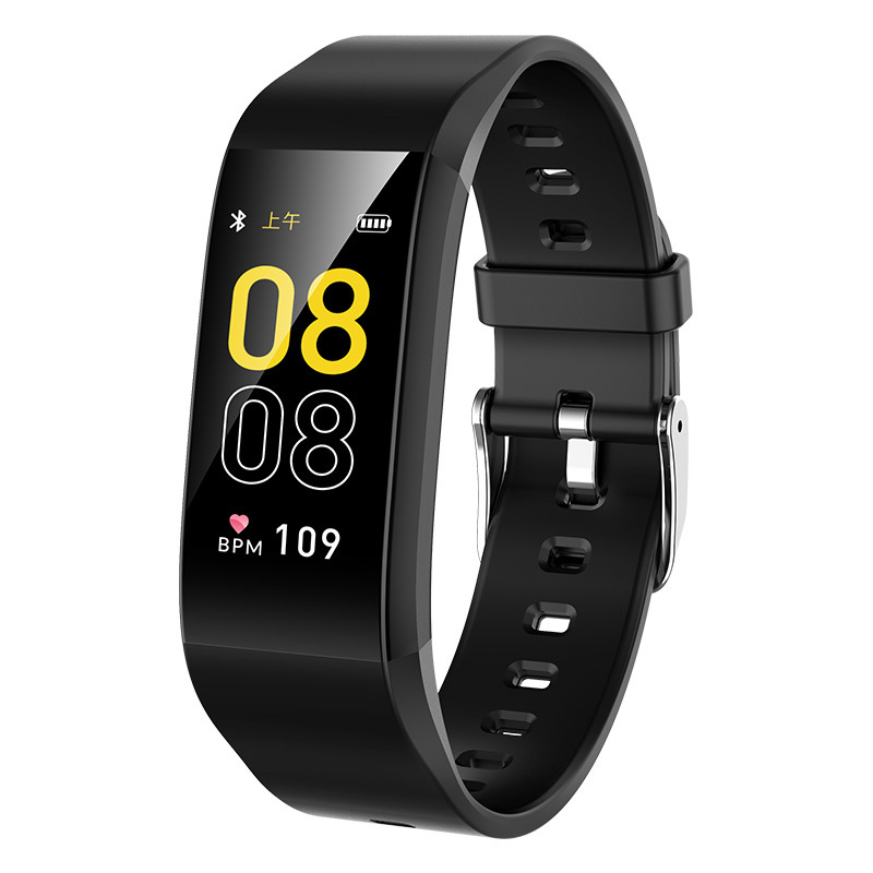 BYM 2019 new F1 intelligent Bracelet exercise pedometer heart rate and blood pressure monitoring hea