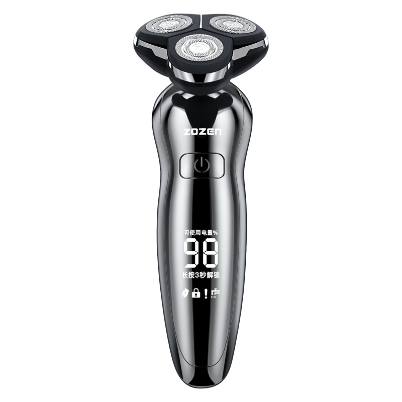 ZOZEN Intelligent electric shaver digital display Shaver Rechargeable new 8508 whole body wash shavi