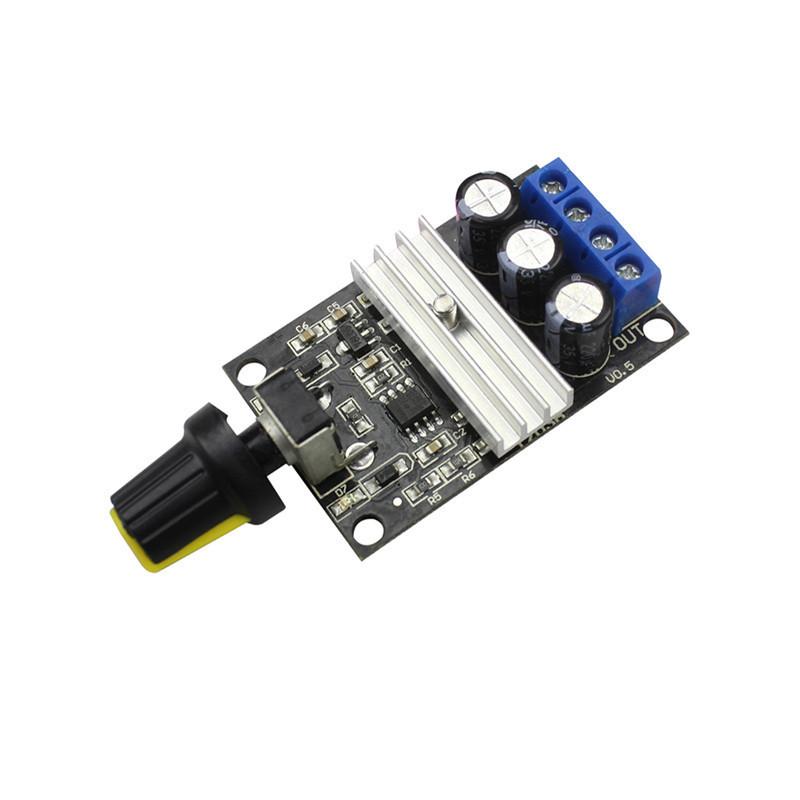 PWM DC motor rotating speed controller 6V12V24V28V 3A speed control switch module 1203B