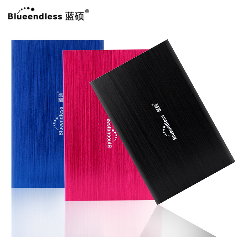 Lanshuo USB3.0 mobile hard drive 1t 500g 250g 80g 160g gift mobile hard drive