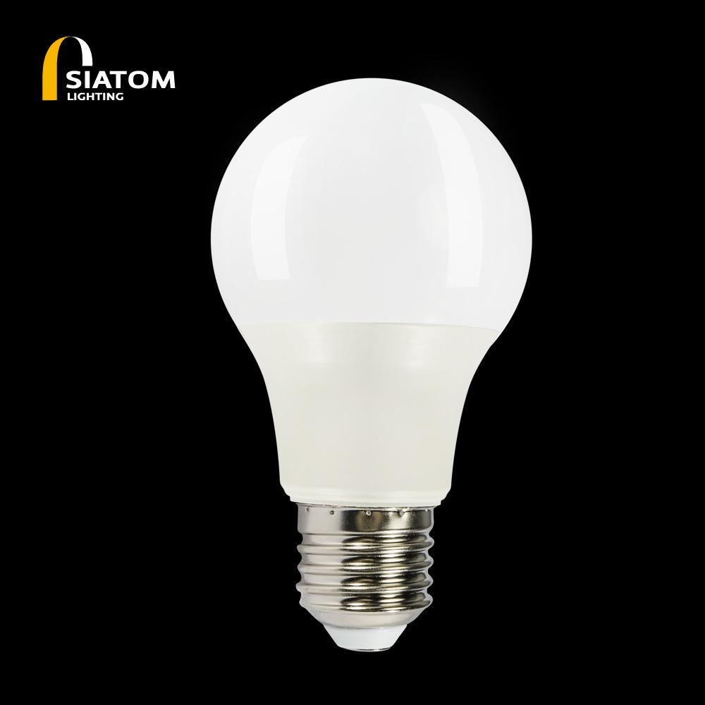 LED bulb plastic bag aluminum bulb can be customized control induction bulb smart solar bulb E27 bul