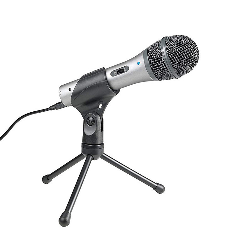 Audio Technica Iron Triangle ATR2100 USB mobile phone computer recording K song microphone microphon