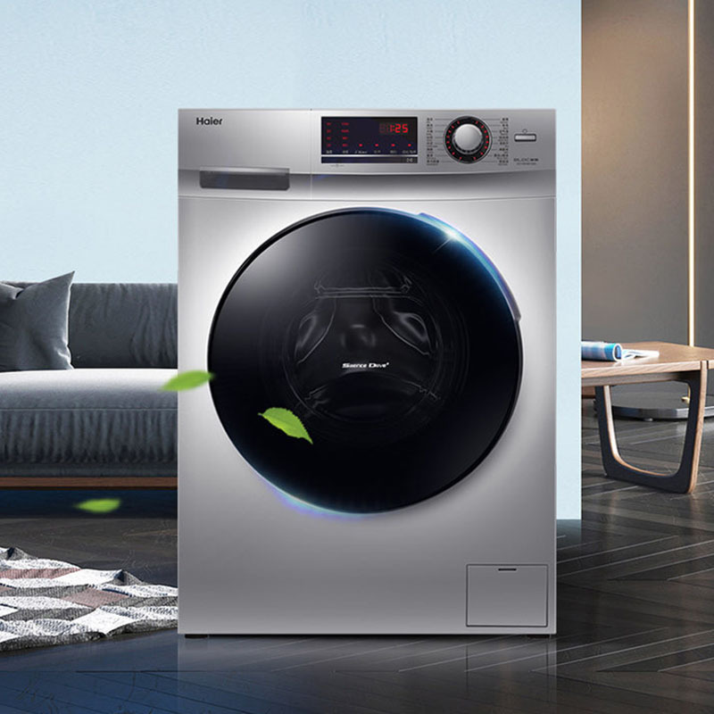 Automatic drum washing machine, high temperature and micro steam 10KG washing and drying integrated