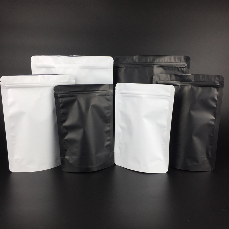 CHAOMA Coffee beans 500g aluminum foil bag filling valve packing bag self-supporting zipper self sea
