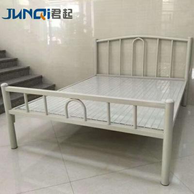 JUNQI giường Nhà sản xuất giường sắt giường ngủ tập thể giường đơn giường sắt giường đôi cho thuê nh