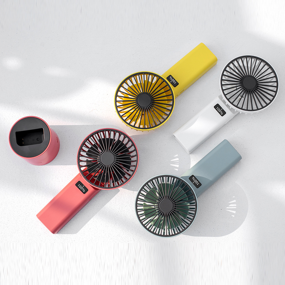Grid Xianzhe F826 shaking his head handheld fan with power display 4000 mAh large capacity silent de