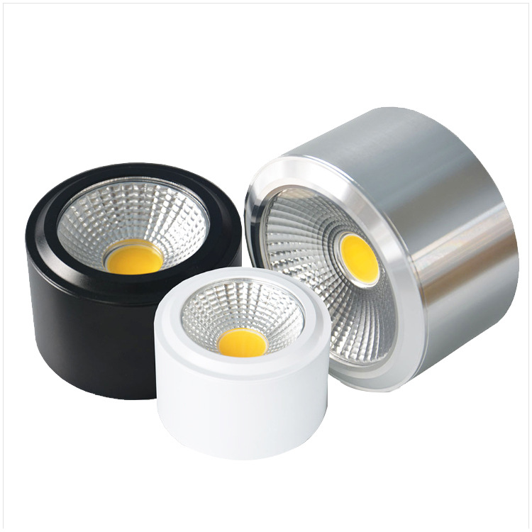 SAISIJIA Zhongshan LED Lighting Commercial Home Surface Mounted Downlight Shell Spotlight Ceiling Li