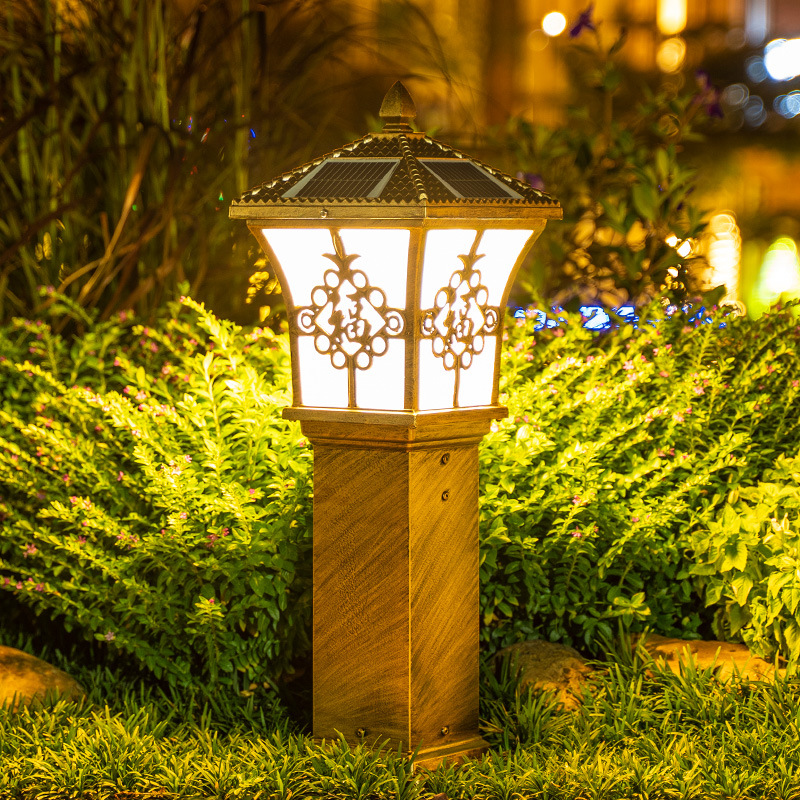 JUNMA Chinese antique landscape light outdoor waterproof led lighting engineering garden light garde