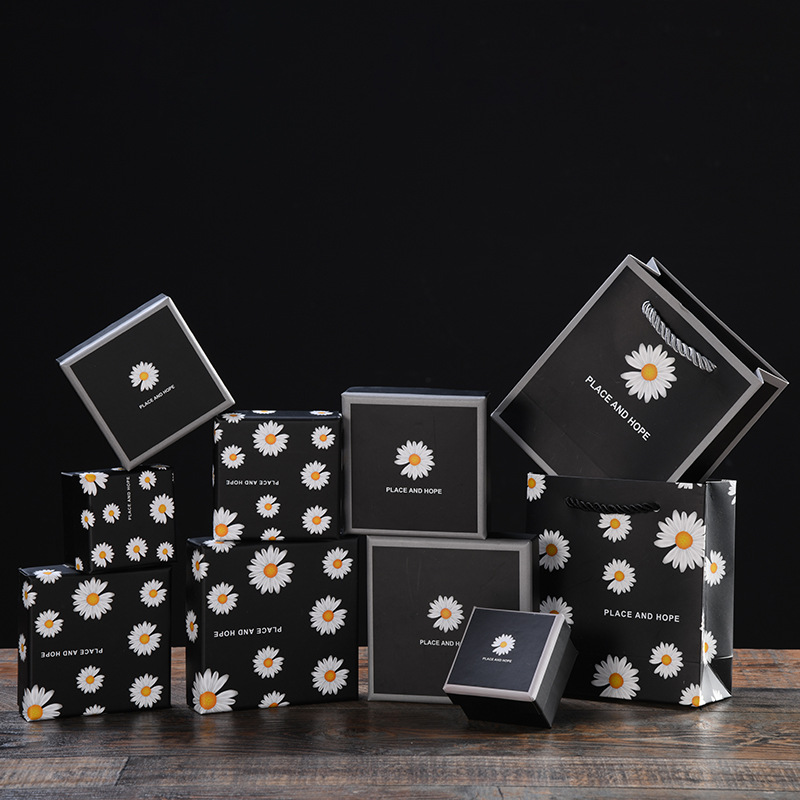 MEIHEN 2020 hot daisy jewelry packaging box gift box