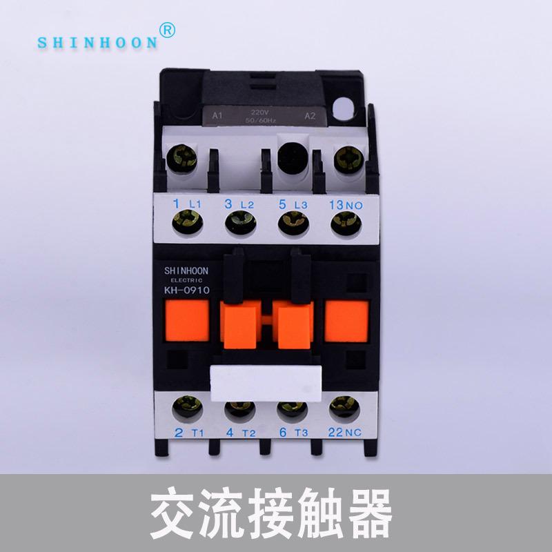 SHINHOON Wholesale 380V three-phase AC contactor CJX2 contactor CJX2-1210 24V 26V 110V 220V