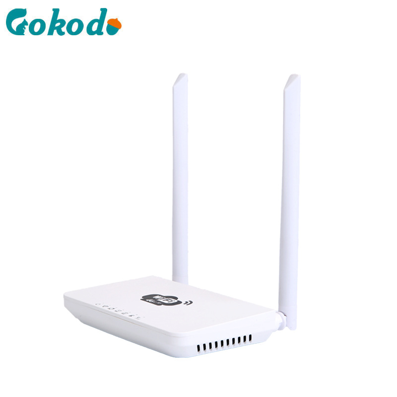 Gokodo 300mbps 4G home CPE wireless router WiFi transmitting 300m through wall coverage signal ampli