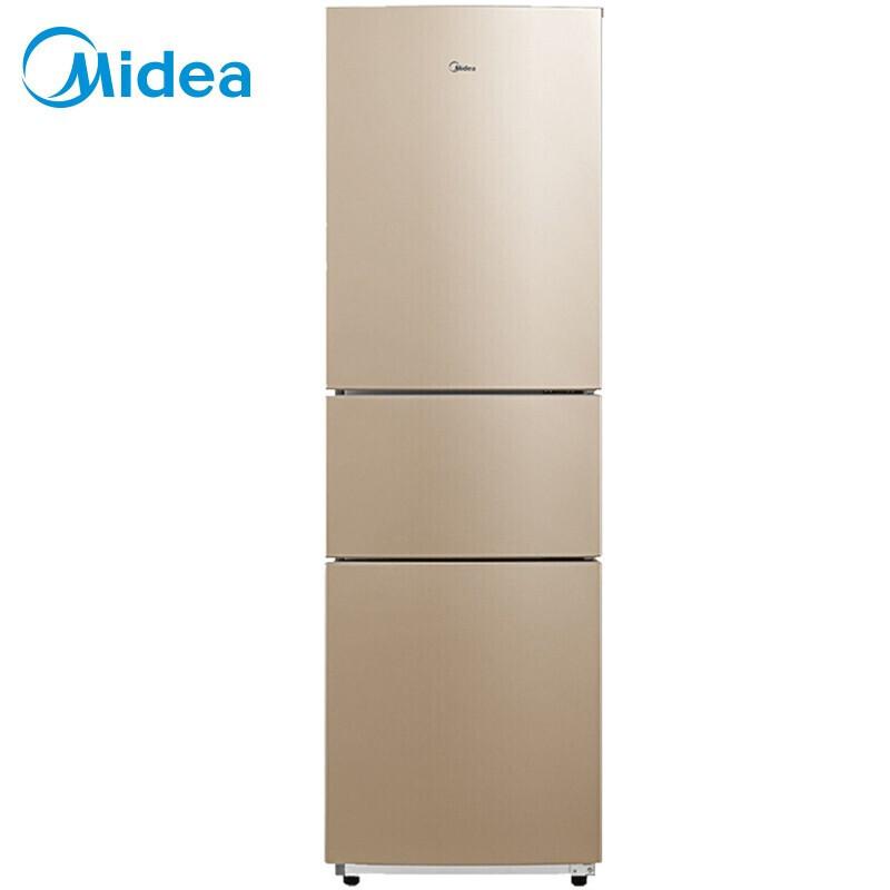 Midea bcd-213tm (E) 213l three door refrigerator mechanical sunshine meter