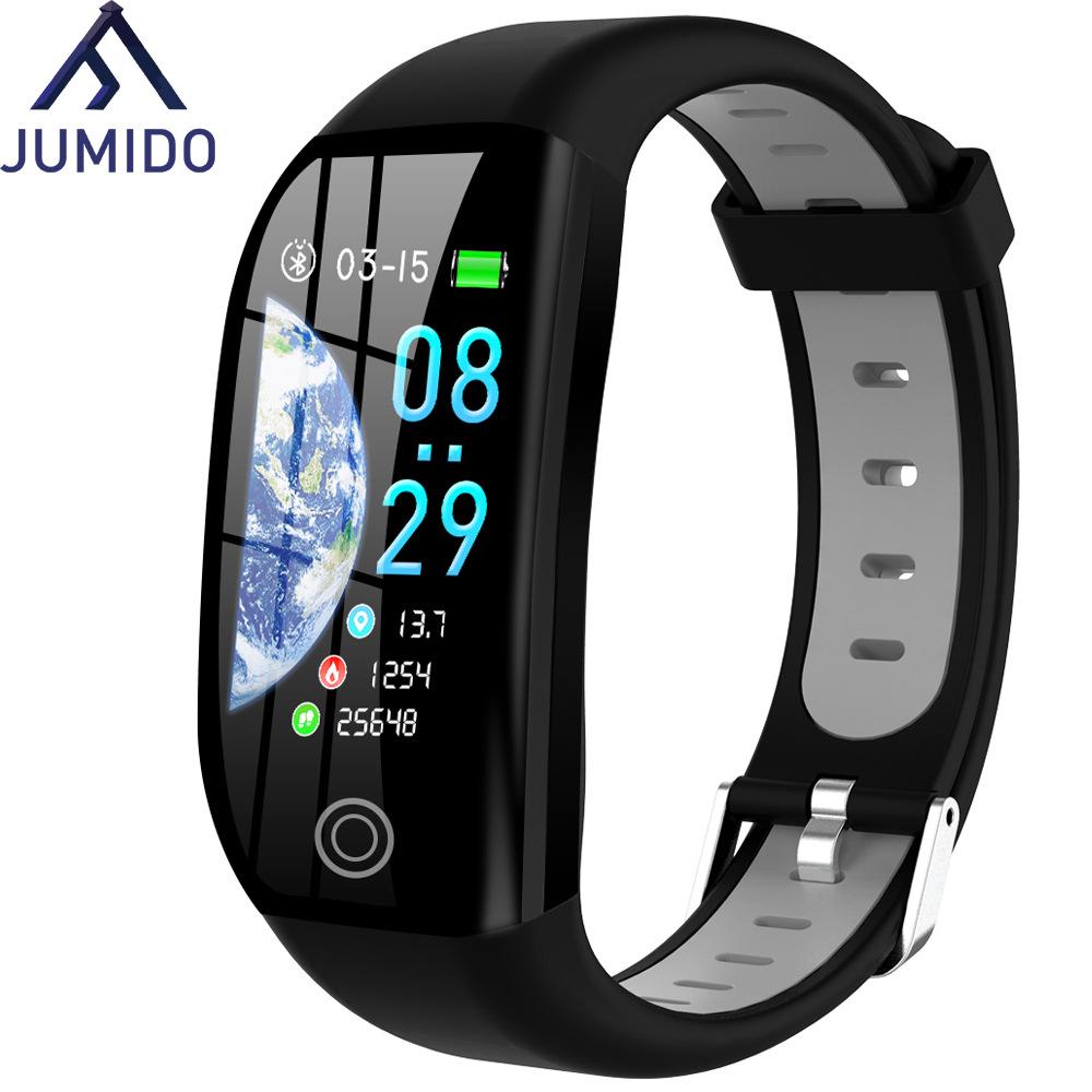 JUMEIDAI F21 color screen Bracelet intelligent exercise heart rate blood pressure sleep health monit