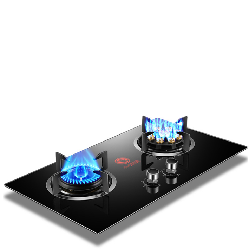 Gas stove high firepower natural gas liquefied gas stove embedded gas stove double stove household s