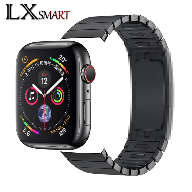 Suitable for Apple smart watch Iwatch Butterfly / original button 1:1 official detachable stainless
